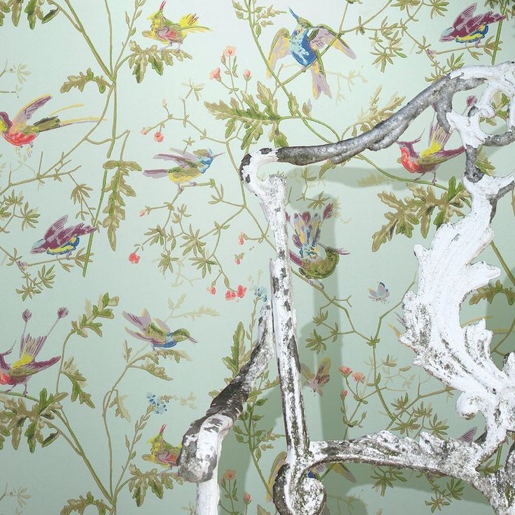Benjamin Moore Color of The Year 2016 - Anything But Simple - laurel home | Cole and Son Wallpaper - Humming Birds also available at Anthropologie
