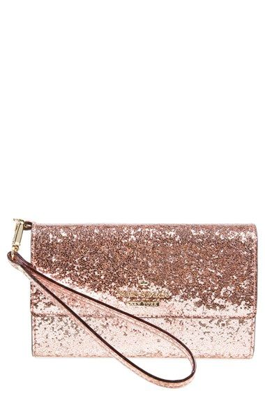 Sparkly wristlet by kate spade new york!