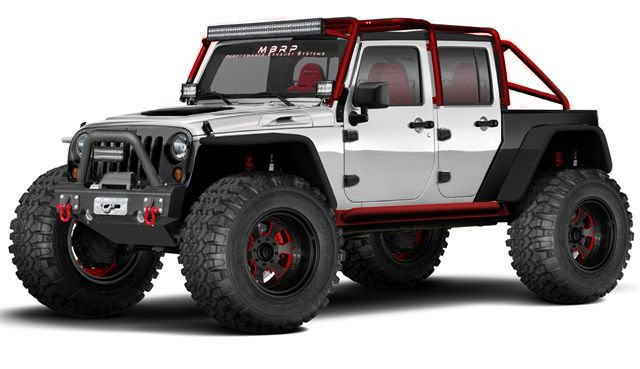 I want this Jeep for the apocalypse
