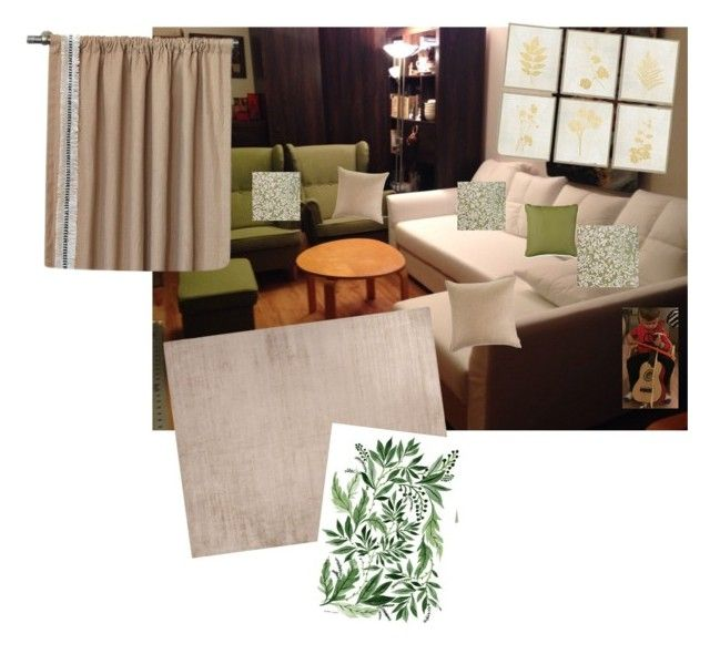 """""""Untitled #9"""" by zsuzsa-szekely on Polyvore featuring interior, interiors, interior design, home, home decor, interior decorating, Jaipur, Improvements, Frontgate and Amara"""