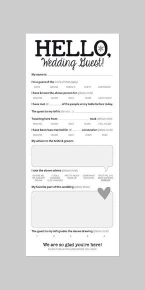 funny wedding reception icebreaker cards entertain your guests