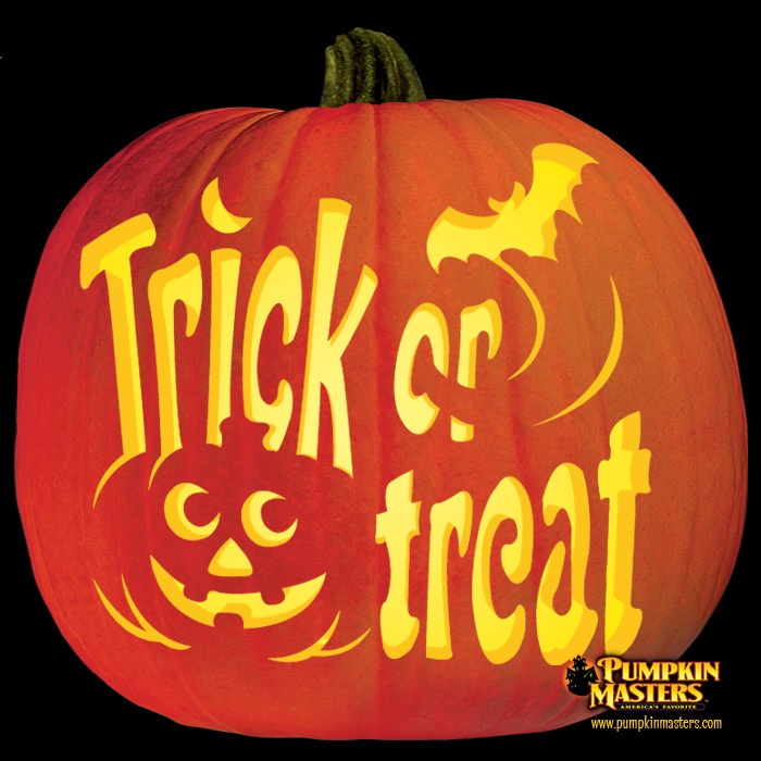 45 best master carving images on pinterest pumpkin for Trick or treat pumpkin template