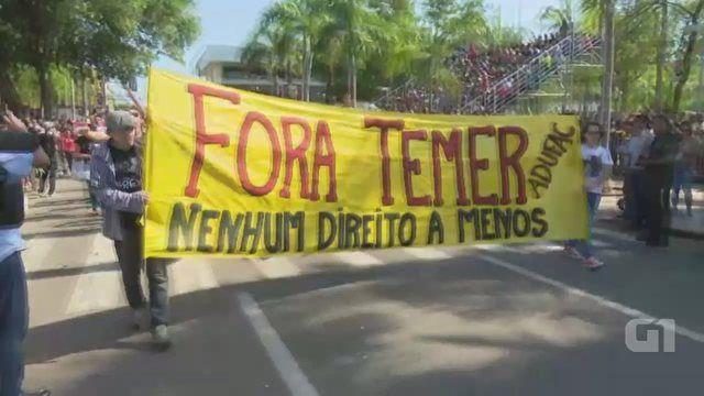 G1 Política - Manifestações no Brasil - Cobertura ao vivo dos protestos