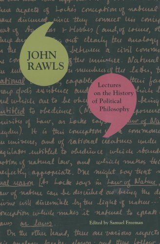 Lectures on the History of Political Philosophy: John Rawls: available via ebrary