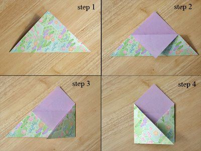 Willy-Nilly Waterlily: Blythe Woolly Lamb Hoods, an Origami Envelope Tutorial