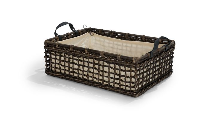 Grid Black Tray - Baskets - Article | Modern, Mid-Century and Scandinavian Furniture