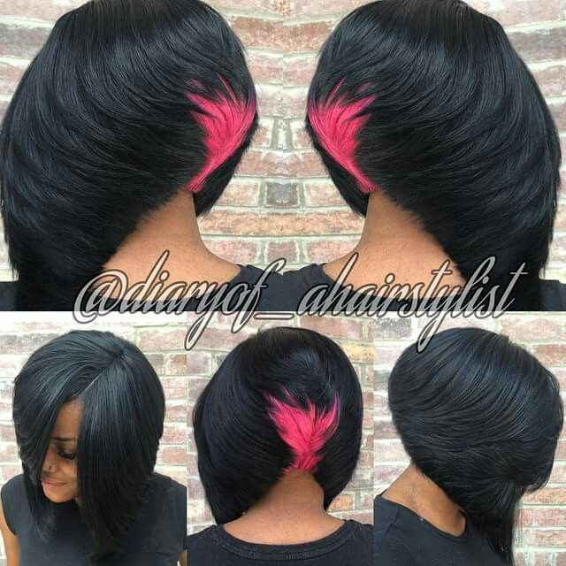 Cotton candy bob Follow me @ diaryof_ahairstylist