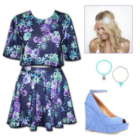 Twin Set Style Guide - floral hippy girl