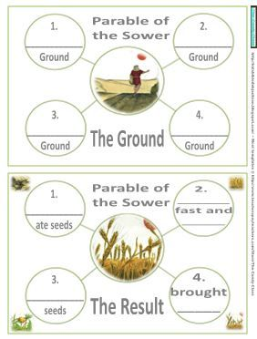 This lapbook has new, updated graphics for the Parables of Jesus.    It does not include all the parables, just the ones that I will be ...