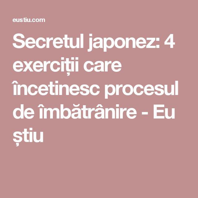 Secretul japonez: 4 exerciții care încetinesc procesul de îmbătrânire - Eu știu