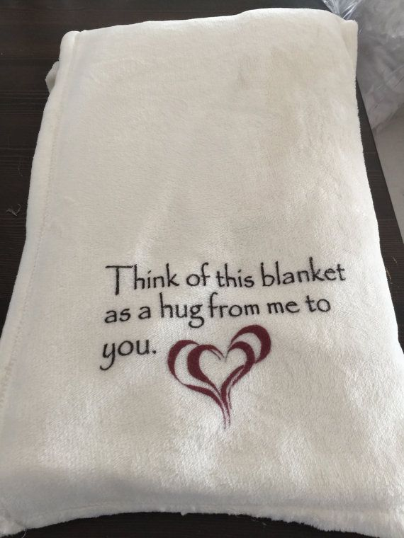 Customizable Throw Blanket for Someone by SayitWithYourWords