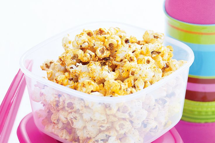 Pop up with this new idea for a kids treat that gives classic popcorn a makeover with barbecue favour.