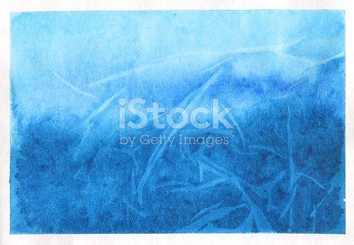 Watercolor Plastic Wrap