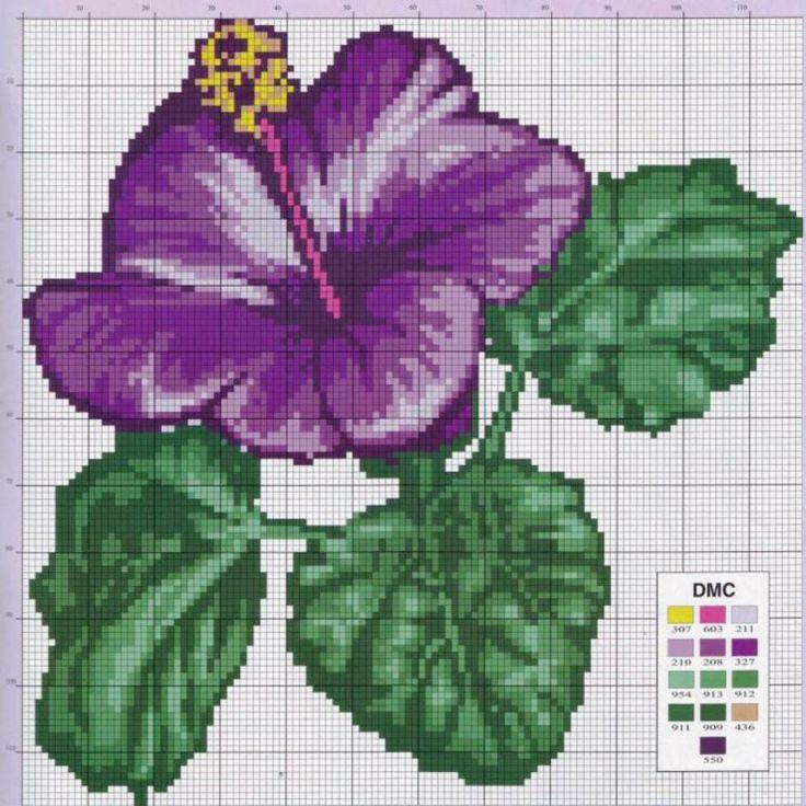 Gallery.ru / Фото #74 - разные цветочные схемы - irisha-ira