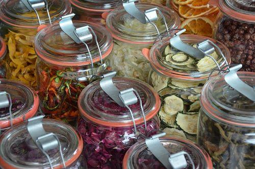 Inmaakrecepten en recepten voor de voedseldroger