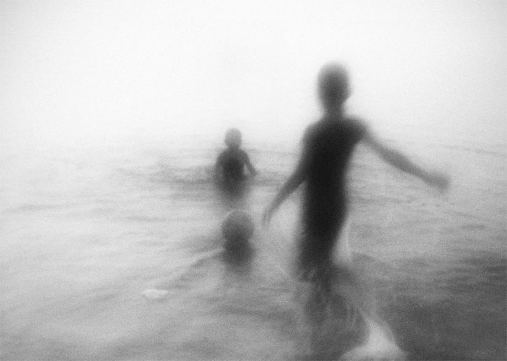 Hengki Lee - Jakarta, Indonesia Artist. And in the sea that's painted black, creatures lurk beneath the deck. #water #peace #ghosts