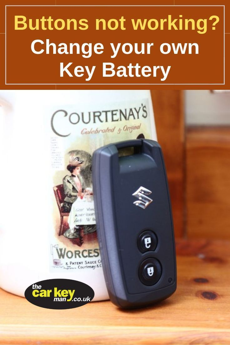 Are your Suzuki key buttons becoming unreliable? Do you