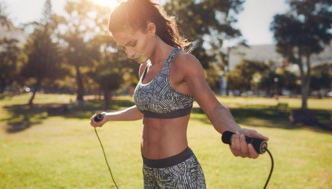 Seilspringen: Schon täglich 10 Minuten machen fit - Ganzkörpertraining – | ||| | || CODECHECK.INFO