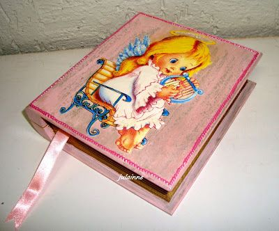 Atelier de Arte Julainne: Caixa livro MDF  decoupage
