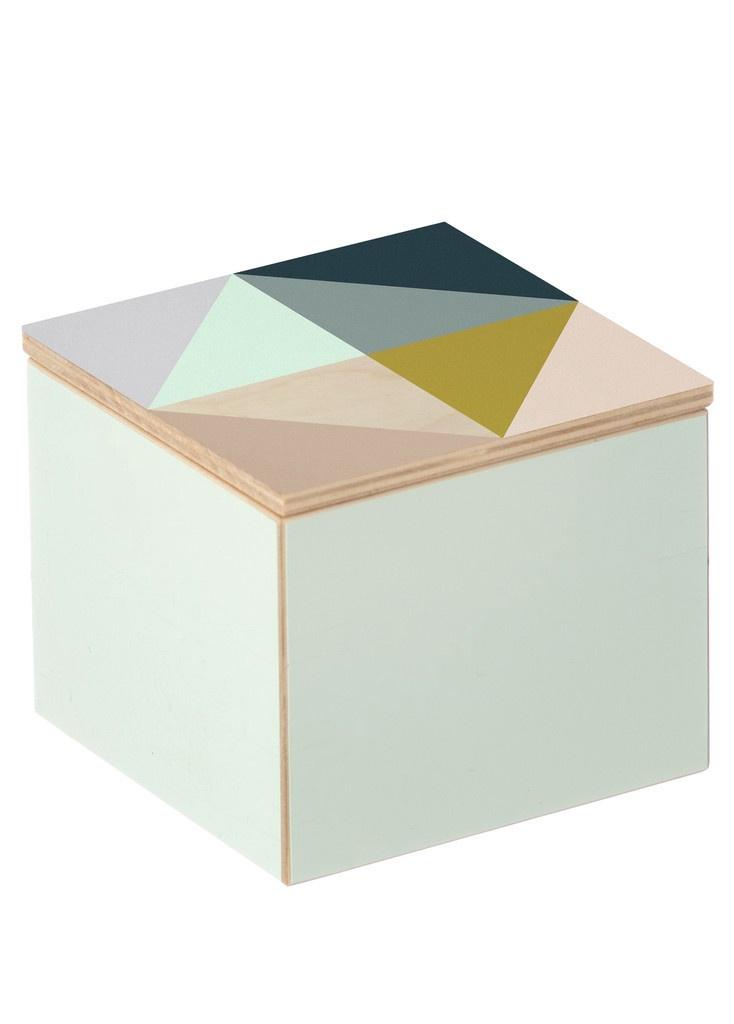 Clint Box / geometric triangles / Ferm Living