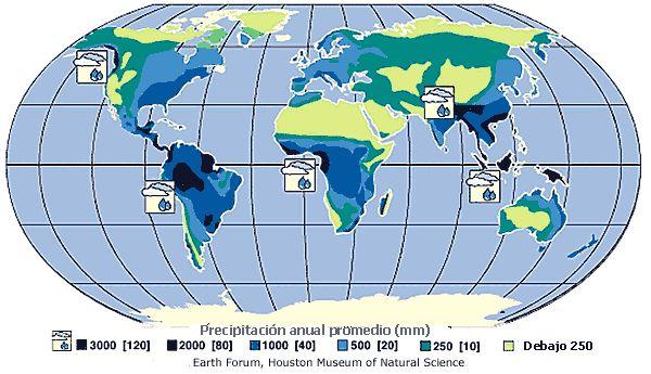 mapa lluvias en el mundo - Buscar con Google