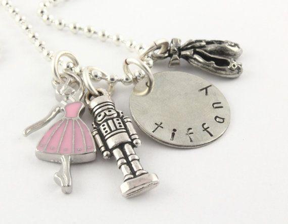 Schiaccianoci fascino personalizzato collana per di TheSilverDiva