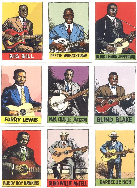 Bluesmens by Robert Crumb