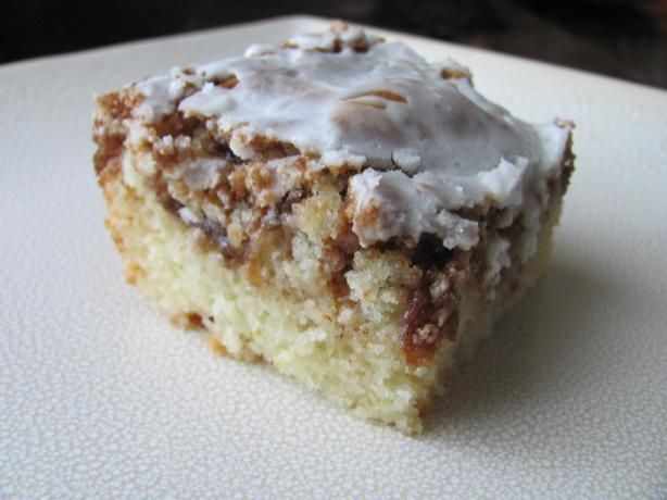 Cinnamon Roll Cake Recipe Using Yellow Cake Mix