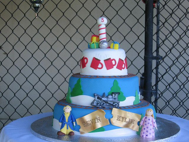 POLAR EXPRESS CAKE by JK51958, via Flickr