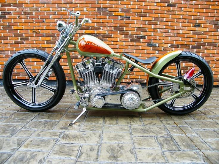 Bobber Inspiration | Harley-Davidson custom bobber | Bobbers and Custom Motorcycles