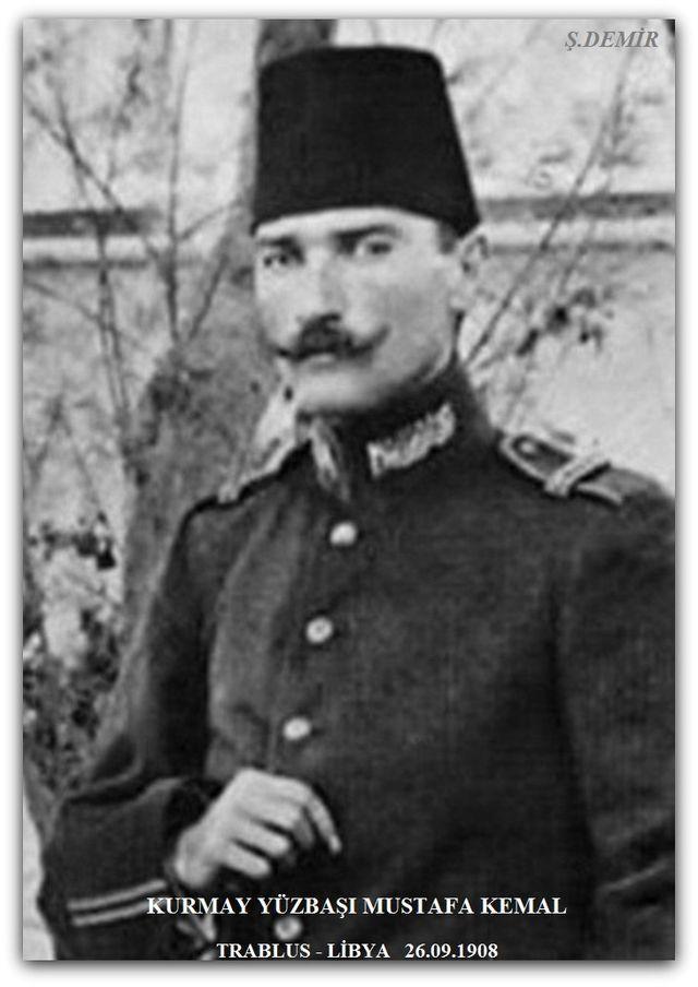 Atatürk Libya Trablusgarp'ta. 26.09.1908