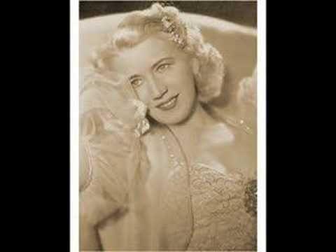 "Erna Sack (live) sings ""Frühlingsstimmenwalzer"" in ""Blumen aus Nizza""1936 - YouTube"