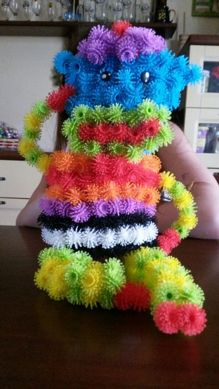 Scimmietta multicolore