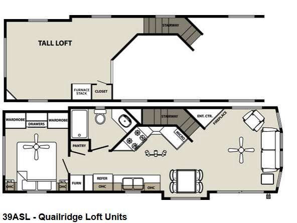 Quailridge Holiday Cottages Park Models | RV Sales | 21 Floorplans