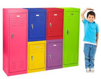 Colorful Modular Lockers Kids Single Tier Storage Metal Locker By Sandusky Lee