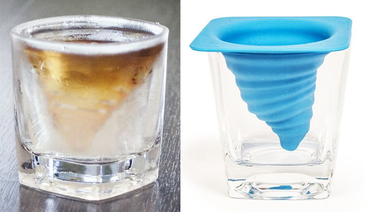Lets you create your own swirling booze-filled ice twisters before you start doing some actual spinning yourself.