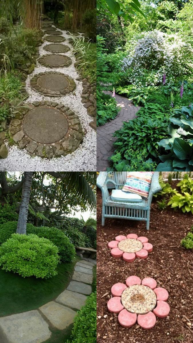Pathways amp steppers sisson landscapes - A Whole Bunch Of Beautiful Enchanting Garden Paths
