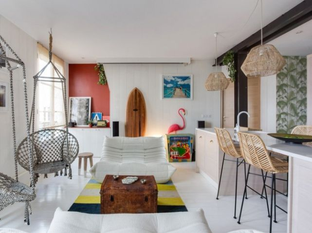 82 best Small Apartments images on Pinterest Small apartments, For - Wohnzimmer Braun Mint