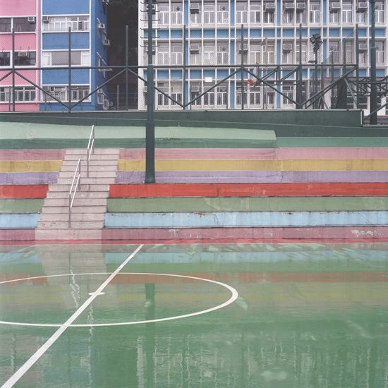 Courts, série que mostra espaços desportivos de Ward Roberts