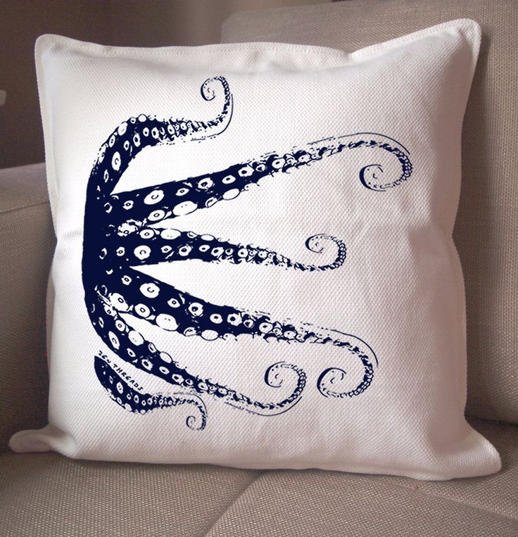 An octopus pillow for the house that will be decorated with all horses, elephants, octopi, pigs, cows, giraffes, chickens and dogs.