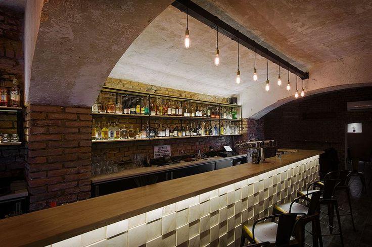 Industrial Interior design - Bar Stromoffka