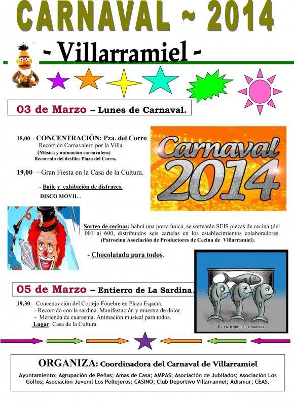 Carnaval de Villarramiel 2014 Palencia