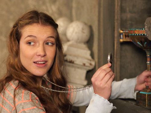 House of Anubis challenge Day #3. The Character You Relate to Most: Nina.