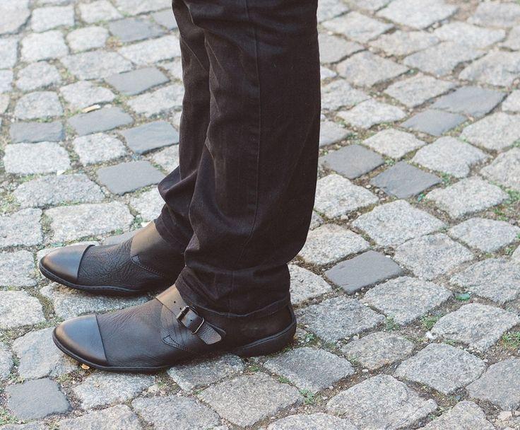 Trippen Gropius Herren Schnürschuh lace-up men Leder leather black schwarz auf mbaetz.com