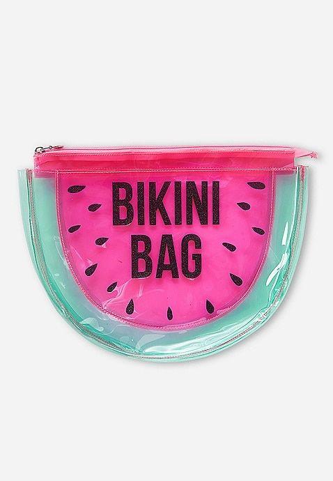 Justice Flip Sequin Belt Bag Mint eye poly