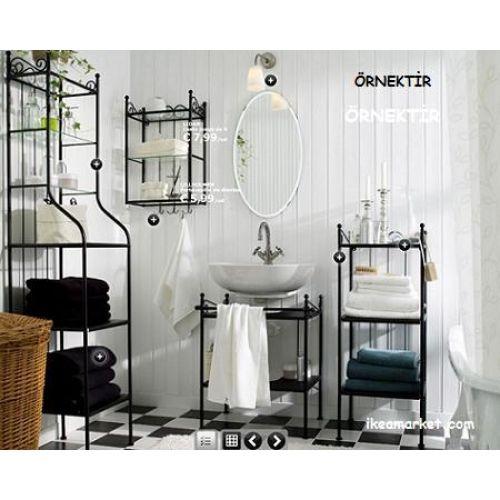 dekoratif banyo rafları - 3