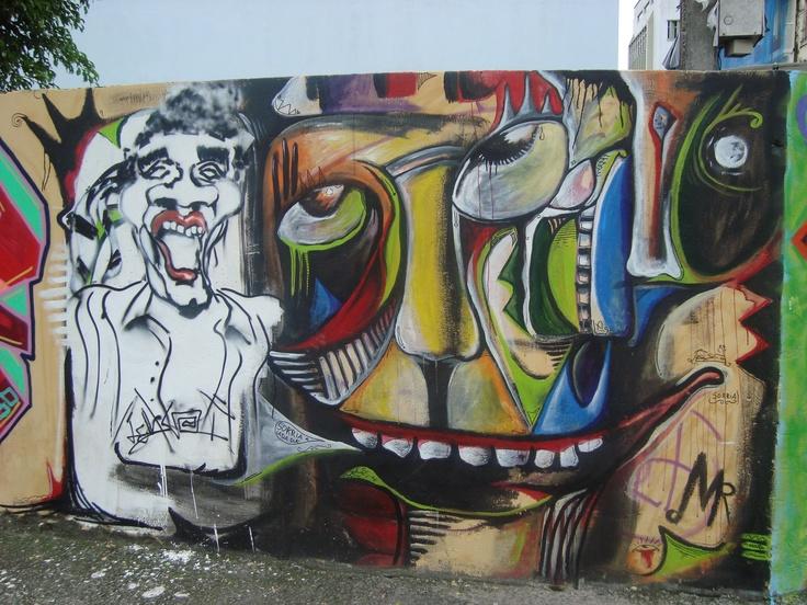 Arte de Rua (3) Florianópolis, SC, Brasil