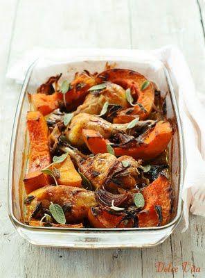 Sütőtök csirkével, ideális hétvégi ebéd   Dolce Vita Életmód