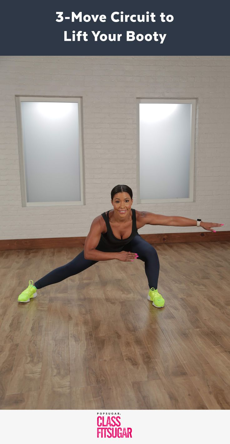 Lift, tighten, and tone your booty with Jeanette Jenkins in this 3 move circuit.