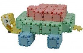 Zelf een schildpad bouwen met Clics: stappenplan.